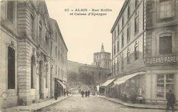 ALAIS-rue Rollin Et Caisse D'éprgne - Alès