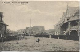REF718/ CP De Panne La Panne Avenue Des Pêcheurs C.PMB-BLP 3 1915 > France - De Panne