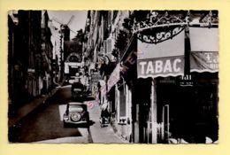 PARIS (18) La Rue Tholozé Et Le Moulin De La Galette (animée / Voitures, Traction Etc.. / Tabac) CPSM (Ed. E.R.) (voir S - Arrondissement: 18