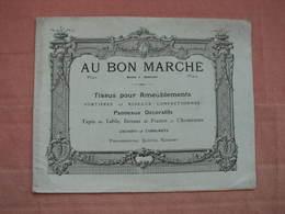 Au Bon Marché  1910  Catalogue Tissus Pour Ameublement, Portières, Rideaux, Tapis, Passementeries - Drapery