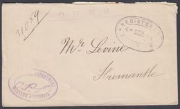 1894. WESTERN AUSTRALIA. O.H.M.S. Envelope. EDUCATION DEPARTMENT WESTERN AUSTRALIA. R... () - JF321624 - Cartas