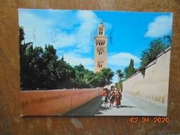 Marrakech. La Koutoubia. Sociepress 30001 PM 1977 - Marrakech