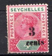 SEYCHELLES - (Colonie Britannique) - 1893 - N° 9 Et 14 - (Lot De 2 Valeurs Différentes) - (Victoria) - Seychelles (...-1976)