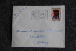 Timbre Sur Lettre De MADAGASCAR (TAMATAVE ) Vers FRANCE - Madagascar (1960-...)