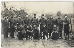 26 ROMANS Militaria Carte Photo 75 Eme Régiment D'Infanterie    ...G - Romans Sur Isere