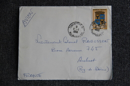 Timbre Sur Lettre De MADAGASCAR (TANANARIVE ) Vers FRANCE - Madagascar (1960-...)