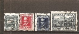 España/Spain-(usado) - Edifil  690-93 - Yvert  534-37 (o) - 1931-Aujourd'hui: II. République - ....Juan Carlos I