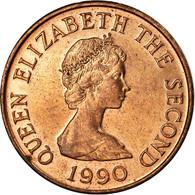 Monnaie, Jersey, Elizabeth II, Penny, 1990, SUP, Bronze, KM:54 - Jersey