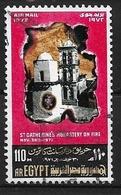 Egitto: 1972 Posta Aerea - Rogo Del Rovo Al Monastero Di Santa Caterina, Sinai. Used - Posta Aerea