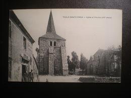 Toulx Ste Croix Eglise Et Clocher - France