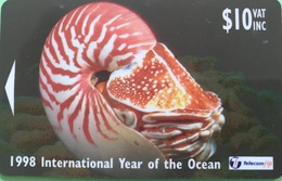 FIDJI  -  Phonecard  -  Post & Telecom  -  Fijian Marine Life  -  $ 10 - Figi