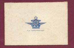 010420A - Carte PA ARROMANCHES Porte Avion Bateau De Guerre - Eau Forte - Boats