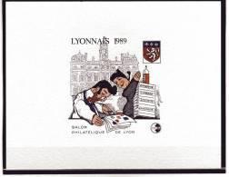 EP CNEP N° 10b EPREUVE DE LUXE - LYONNAIS 1989 SUPERBE - CNEP