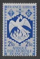 AFRIQUE EQUATORIALE FRANCAISE - AEF - A.E.F. - 1941 - YT 150** - Neufs