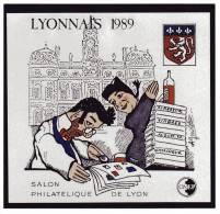 ND CNEP N° 10a NON DENTELE NEUF ** LUXE - LYONNAIS 1989 - CNEP