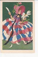 Marcello DUDROVICH, Jeune Fille Effeuillant Une Marguerite, Ed. Degami Milan 1930 - Autres Illustrateurs