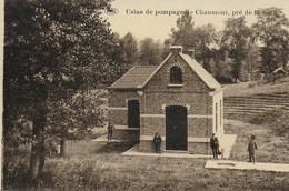 CHAUMONT GISTOUX.   CHAUMONT. USINE DE POMPAGE DE CHAUMONT, PRE DE LA COUR.  ANIMATION. - Chaumont-Gistoux