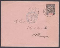 1894. SAINT-PIERRE-MIQUELON. ENVELOPE 25 C. Black. 122 X 95 Mm. ST PIERRE ET MIQUELON... () - JF321913 - St.Pierre Et Miquelon