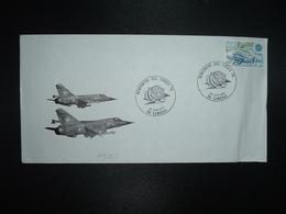 LETTRE Illustrée AVIONS DE CHASSE TP EUROPA 1,20 OBL.23 JUIN 1979 59 CAMBRAI RENCONTRE DES TIGRES 79 - Militaria