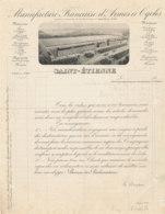 FA  1854 -  FACTURE   -   MANUFACTURE FRANCAISE D'ARMES ET CYCLES SAINT ETIENNE - 1900 – 1949