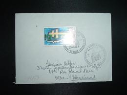 LETTRE TP GENERAL DE GAULLE 1,00 OBL.28 X 1977 59 LILLE PHILATELIE AGENCE REGIONALE D'INFORMATION DES POSTES - Marcophilie (Lettres)
