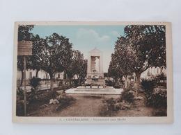 Castiglione ( Monument Aux Morts) Algérie - Algeria