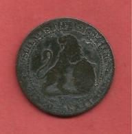 5 Centimos , ESPAGNE , Cuivre , 1870 OM , N° KM # 662 , N° Y53 - Monnaies Provinciales