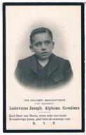Dp. Coveliers Ludovicus. ° Antwerpen 1891 † Antwerpen 1913  (2 Scan's) - Religion & Esotérisme