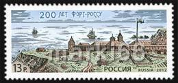 Russia - 2012 - Russian America - 200 Years Of Fort Ross - Mint Stamp - Unused Stamps