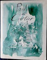 PARFUM LUXE  PASHA DE CARTIER EBLOUISSANT CATALOGUE EDITE POUR LE LANCEMENT DE PASHA 20 AQUARELLES DE M CHARRIER - Catalogues