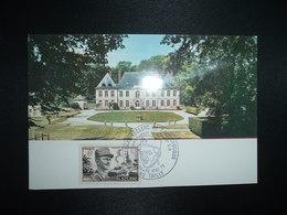 CP CHATEAU DE TAILLY TP LECLERC 6F OBL.29-30 MAI 1977 80 TAILLY MARECHAL LECLERC DE HAUTECLOCQUE - Guerre Mondiale (Seconde)
