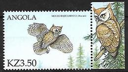 ANGOLA - MNH 2000 :   Eastern Screech Owl  -  Megascops Asio - Owls