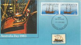 Voyage Of The First Fleet HMS Sirius & HMS Brig Supply, Premiers Explorateurs En Australie 1787 - Explorateurs