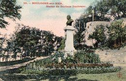 62 - BOULOGNE SUR MER-STATUE DU DOCTEUR DUCHESNE - Boulogne Sur Mer