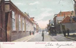 1854156Scheveningen, Badhuisstraat Rond 1900 (diverse Vouwen) - Scheveningen