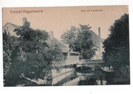 Hongarije Hungaria - Udvozlet Magyarovarrol - Lajta Vize A Kavehazzal -  1909 - Hungary
