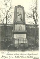 MONUMENT TO BURN'S HIGHLAND MARY - GREENOCK RENFREWSHIRE - WITH GOOD GREENOCK POSTMARK - Renfrewshire