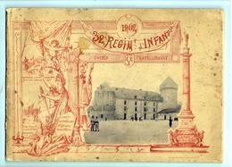 32e Règiment D'Infanterie 1902 Livret De 32 Pages - 30 Photos - Documents Historiques