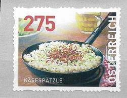 2020 Austria Österreich Mi.32 **MNH  Kässpätzle   Dispenserrollenmarken - 2011-... Ungebraucht