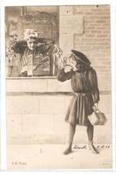 K 1756 VERY  OLD (1902)   FANTASY  POSTCARD  , CHILDREN  , - Sin Clasificación
