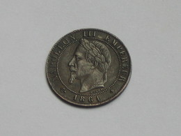 1 Centime 1861 BB  - Napoléon III - Tête Laurée   **** EN ACHAT IMMEDIAT **** - A. 1 Centime