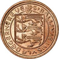 Monnaie, Guernsey, Elizabeth II, New Penny, 1971, SPL, Bronze, KM:21 - Guernesey