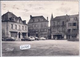 BRIVE-LA-GAILLARDE- PLACE THIERS- HOTEL LE MONTAUBAN- CAFE DE FRANCE- TAILLEUR FROIDEFOND - Brive La Gaillarde