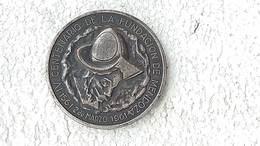 Medal Medalla Medaille Medaglia Argentina Mendoza 400 Yr Foundation Hommage 1961 #4 - Other