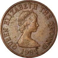 Monnaie, Jersey, Elizabeth II, Penny, 1985, TTB, Bronze, KM:54 - Jersey