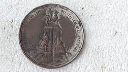 Medal Medalla Medaille Medaglia Argentina Garibaldi Cavaliere Ummanita 1904 Hommage #4 - Gettoni E Medaglie