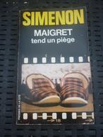 SIMENON: Maigret Tend Un Piège / PRESSES DE LA CITE-1982 - Books, Magazines, Comics