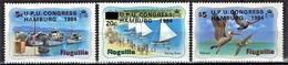 Anguilla - Mi-Nr 604/606 Postfrisch / MNH ** (v718) - Schiffe