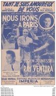 """Partition : """" Tant Que Je Suis Amoureux De Vous """" : Par Lucien Jeunesse Et Ray Ventura . - Partitions Musicales Anciennes"""