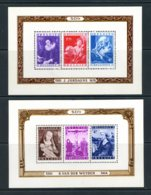 BE   BL27 - 28    XX   ---  MNH  --  Impeccable  --  Jordaens Et Van Der Weyden  --  COB :  340 Euros - Blocks & Kleinbögen 1924-1960